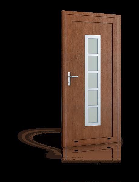 Al Ps Deco Basic Türen Alu Profile Einkammer Ornamentscheiben
